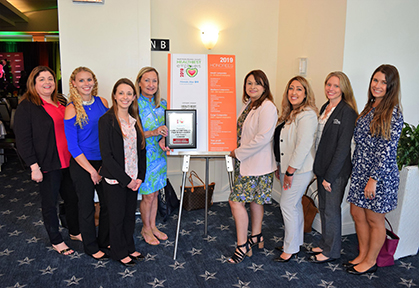 Clerk's HR team receives Healthiest Employer Award