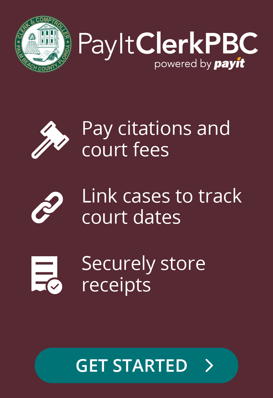 Pay citations and court fees - get started