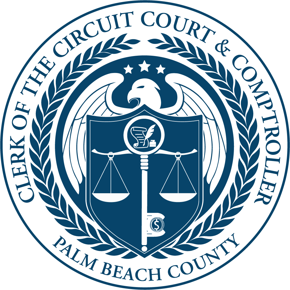 Palm Bay County Clerk & Comptroller logo